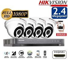Hikvision Prolux DVR 1080P 2.4MP CCTV SONY IMX Night Vision Security Home System
