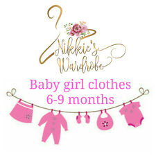 Multi listing baby girl clothes bundle 6-9 months OUTFITS-DRESSES-SLEEPSUITS