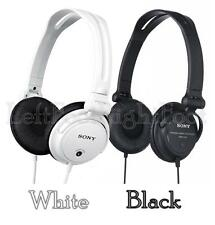 Sony MDRV150 Monitoring Stereo DJ Headphones with Reversible EarCups-Black/White