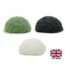 100% Natural Konjac Sponge Facial Cleanse Exfoliate Deep Clean Scrub