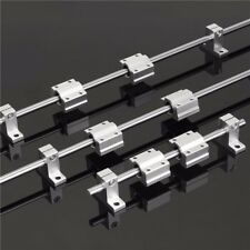 200600800MM X 8MM LINEAR RAIL SHAFT ROD WITH BEARING GUIDE SUPPORT AND SCS8UU