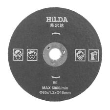 HILDA 10MM15MM RESIN CUTTING DISC 85X12MM SAW BLADE FOR STEEL IRON