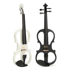 44 ELECTRIC VIOLIN WITH HEADPHONE GIG BAG ROSIN BOW CABLE FOR BEGINNER