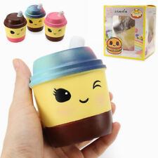 XINDA SQUISHY MILK TEA CUP 10CM SOFT SLOW RISING WITH PACKAGING COLLECTION GIFT
