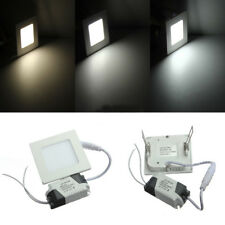3W SQUARE CEILING PANEL WHITEWARM WHITE LED LIGHTING AC 85265V