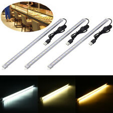 35CM 7W 24 SMD 5630 USB RECHARGEABLE LED RIGID STRIP HARD BAR LIGHT TUBE LAMP
