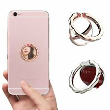 UNIVERSAL MAGNETIC 360 DEGREE ROTATION METAL MIRROR FINGER RING STAND CAR PHONE