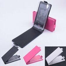 FLIP UPDOWN LEATHER MAGNETIC PROTECTIVE CASE FOR WIKO BIRDY