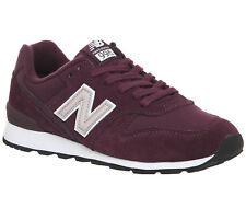 Womens New Balance Wr996 Trainers BURGUNDY Trainers Shoes
