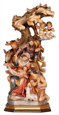 Nativity wood carving, handmade - mod. 913  - MADE IN ITALY-
