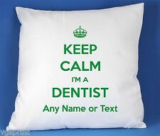 Keep Calm I'm a dentiste SATIN LUXE polyester