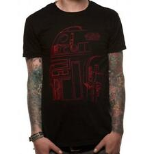 STAR WARS - The Last Jedi r2-d2 Camiseta - Nuevo y Oficial Disney/Lucasfilm LTD