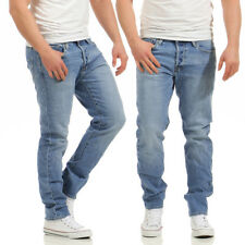 JACK & JONES - Mike ORIGINALE CR002 - Comfort Fit - uomo blu jeans pantaloni