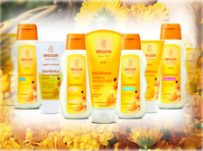 Weleda Baby Calendula Full Range - Shampoo, Body Wash, Nappy Cream, Lotion, Bath