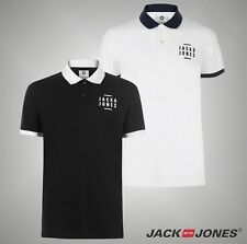 Mens Branded Jack And Jones Short Sleeves Core Flatley Polo Shirt Top Size S-XXL