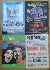 Selection of individual ~A5 and ~A6 size theatre leaflets handbill flyer leaflet
