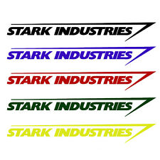 Marvel iron man avengers stark industries parking permit id stark industries sticker vinyl decal marvel iron man avengers car window colourmoves