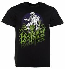 Official Men's Black Beetlejuice T-Shirt