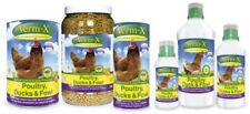 VERM-X HERBAL PARA AVES DE CORRAL Natural VERMICIDA Pollos Pato Intestinal Salud
