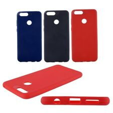 For Honor 7X - Rock Soft Camera Protection Back Cover Case BLACK, RED, BLUE