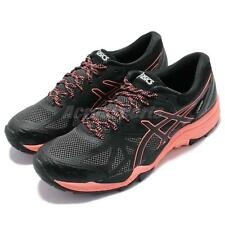 Asics Gel-FujiTrabuco 6 Gore-Tex Black Pink Women Trail Running Shoe T7F5N-9006