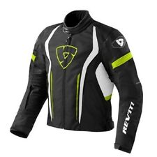 chaqueta de motociclista Revit Rev'it Raceway negro amarillo Black yellow M L XL