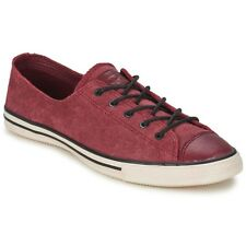 Scarpe donna Converse  Chuck Taylor All Star FANCY LEATHER OX  Rosso Cuoio 42...