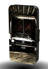 FORD MUSTANG RACING RALLY RE vintage garage similpelle custodia per telefono