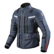 Giacca moto Rev'it Revit Sand 3 dark blu adventure turismo impermeabile