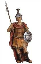 Roman soldier, statue wood carving for Nativity set mod. 912