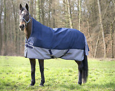 Equi Theme TYREX 600 D High Neck Regendecke Outdoordecke Weidedecke 0 g