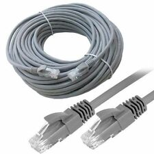 RJ45 CAT6 Red LAN Cable Cobre Ethernet Cable UTP Gris 1m to 50m LOTE