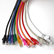Rj45 Cat5e Red LAN Cable Ethernet Cable UTP corto - Largo 1m-50m LOTE