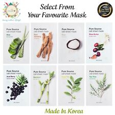 Missha Pure Source Cell Sheet Mask 21g X 2 Sheet Made In Korea Free Shipping