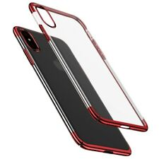 Baseus custodia protettiva per iPhone X ULTRA SOTTILE BUMPER PC Cover rigida
