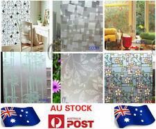 90cmx3m Bamboo Privacy Frosted Frosting Removable Glass Window Film c1098-1