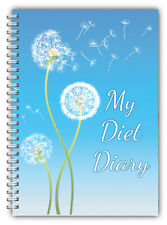 Diet Food Diary Slimming Tracker Food Weight Loss Dieting Journal Free Postage
