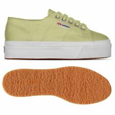 SUPERGA 2790 zeppa 4cm Scarpe DONNA acotw up and down Verde MELA Prv/Est New C28