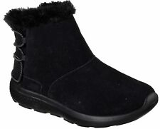 Skechers on the go Stivali donna stivali invernali 14615 BBK Nero NUOVO