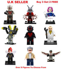 Antman Minifigure Fits Lego Ant Man and the Wasp Ant-Man AntMan Mini Figure