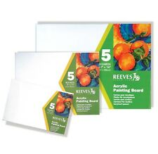 Reeves Painting Boards for Oil, Acrylic, Watercolour, Soft Pastel and Oil Pastel