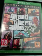 Brand New Sealed Grand Theft Auto V 5 (Xbox One) , PAL-Free Delivery