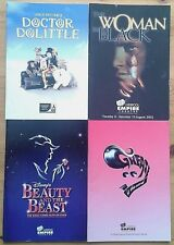 Selection of individual Liverpool Empire programme 2000s, theatre programme