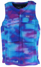 JET PILOT BEC Ascent Jersey Chaleco 2017 FUCSIA / Blue wakeboard Neo Chaleco