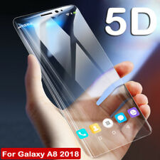 3D Curved Full Tempered Glass Screen Protector for Samsung Galaxy A8 S9Plus Film