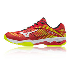 Mizuno Mens Wave Exceed Tour 3 All Court Tennis Shoes Red Yellow Sports