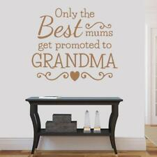Only the Best Mums Wall Sticker Wall Chick Decal Art Sticker Quote