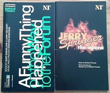 Selection of individual National Theatre programmes 2000s, West End programme