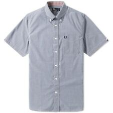 Fred Perry Short Sleeve Gingham Shirt M6378 126