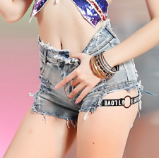 2018 Sexy Style High Waist Denim Women Cotton Jeans Short Girls Pant S M L 18002